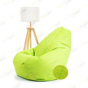 Lazy BAG JUMBO XXL Pistaći zeleni Šoteks ( 270×130 ) –  DOSTAVA JE BESPLATNA